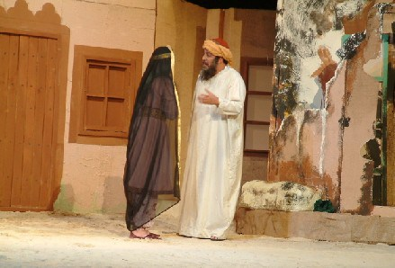 مسرحية (فصول من عذابات الشيخ أحمد)
