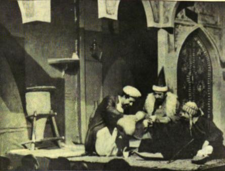 مسرحية بغداد الازل بين الجد والهزل
