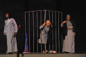 عرض زهرة الحكايا، إخراج يوسف البلوشي لفرقة مزون