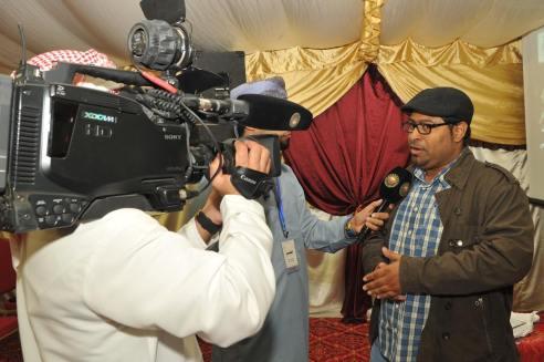 لقاء مع التلفزيون العماني